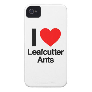 i love leafcutter ants Case-Mate iPhone 4 case