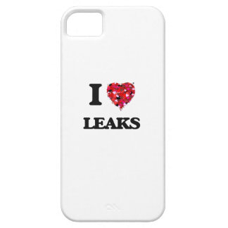 I Love Leaks iPhone 5 Cover