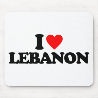 I LOVE LEBANON MOUSE MAT