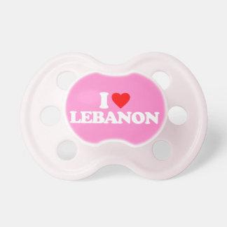 I LOVE LEBANON PACIFIERS