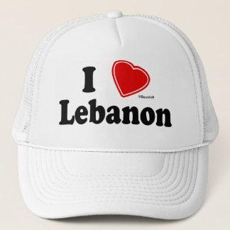 I Love Lebanon Trucker Hat