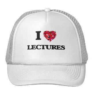 I Love Lectures Cap