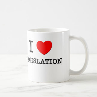I Love Legislation Basic White Mug