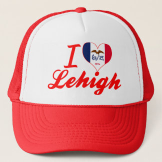 I Love Lehigh, Iowa Trucker Hat