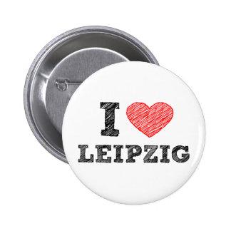 I-love-Leipzig 6 Cm Round Badge
