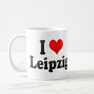 I Love Leipzig, Germany Coffee Mug
