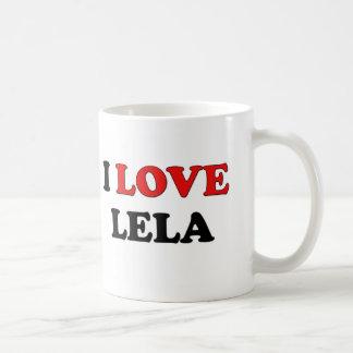 I Love Lela Basic White Mug