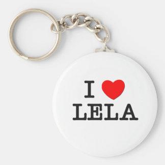 I Love Lela Keychains