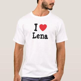 I love Lena heart T-Shirt