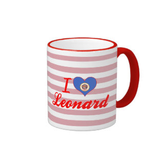 I Love Leonard, Minnesota Ringer Mug