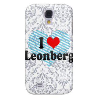 I Love Leonberg, Germany Samsung Galaxy S4 Cases