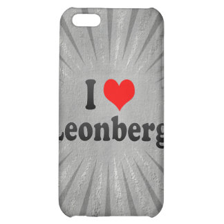 I Love Leonberg, Germany iPhone 5C Cover