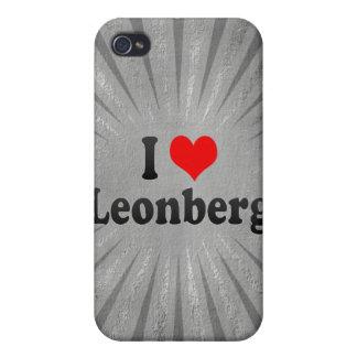 I Love Leonberg, Germany iPhone 4 Covers