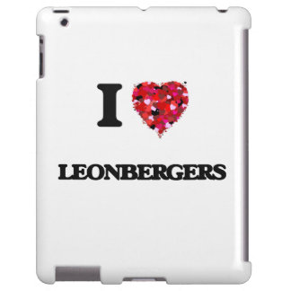 I love Leonbergers iPad Case