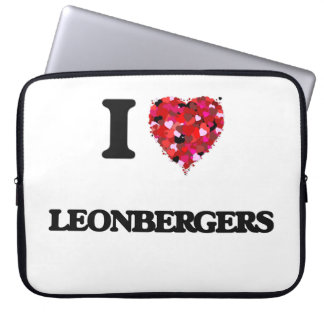 I love Leonbergers Laptop Computer Sleeves