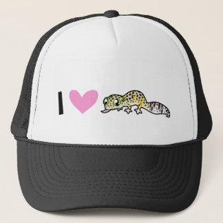 I Love Leopard Geckos Cap