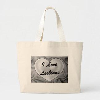 I Love Lesbians Tote Bag