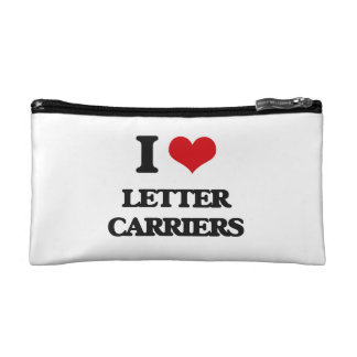 I Love Letter Carriers Cosmetic Bag