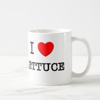 I Love LETTUCE ( food ) Coffee Mugs
