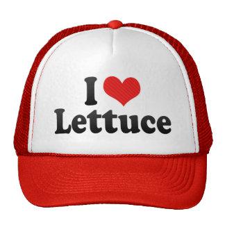 I Love Lettuce Mesh Hat