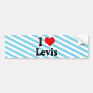 I Love Levis, Canada. I Love Levis, Canada Bumper Stickers