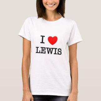 I Love Lewis T-Shirt