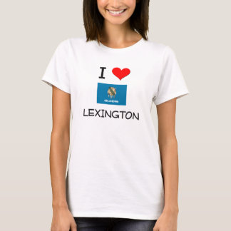 I Love Lexington Oklahoma T-Shirt