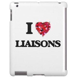I Love Liaisons iPad Case