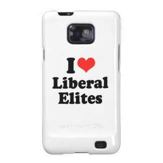 I LOVE LIBERAL ELITES.png Samsung Galaxy S2 Cover