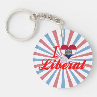 I Love Liberal, Missouri Key Chains