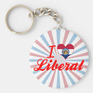 I Love Liberal, Missouri Keychains