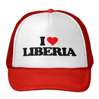 I LOVE LIBERIA CAP