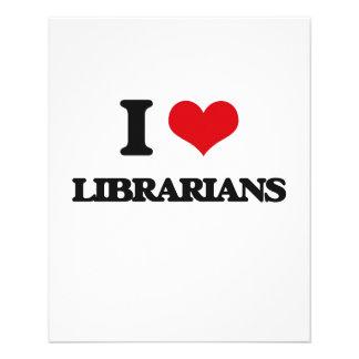 I love Librarians Custom Flyer