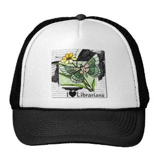 I Love Librarians Mesh Hat