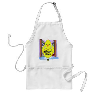 I Love Library Chicks Adult Apron