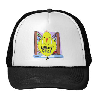 I Love Library Chicks Cap