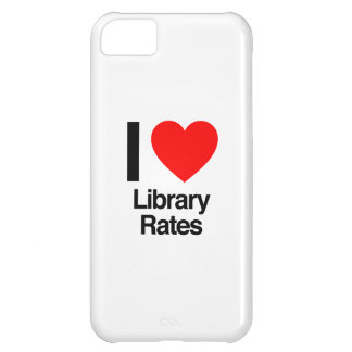 i love library rates iPhone 5C case