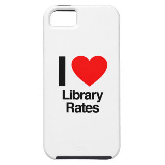 i love library rates tough iPhone 5 case