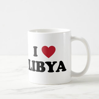 I Love Libya Basic White Mug