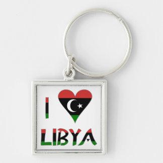 I Love Libya Key Chain