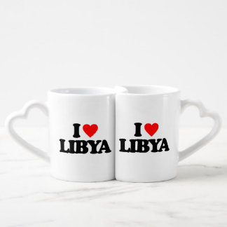 I LOVE LIBYA LOVERS MUGS