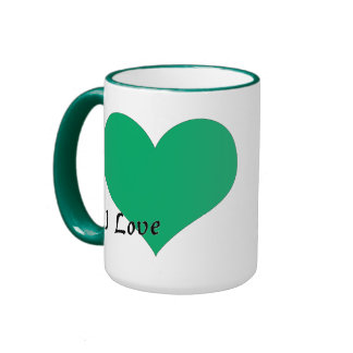 I love Libya Ringer Mug
