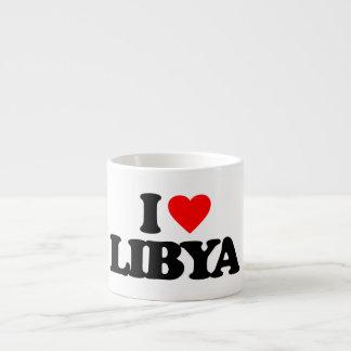 I LOVE LIBYA ESPRESSO CUP