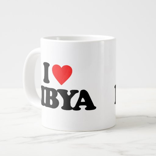 I LOVE LIBYA EXTRA LARGE MUG