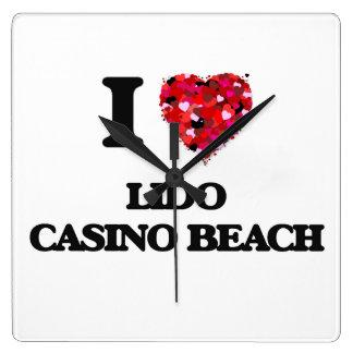 I love Lido Casino Beach Florida Clocks