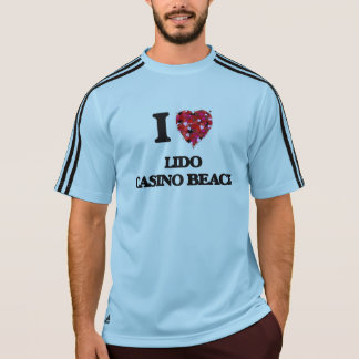 I love Lido Casino Beach Florida T-shirts