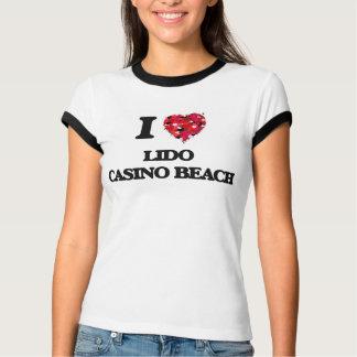 I love Lido Casino Beach Florida Tee Shirts