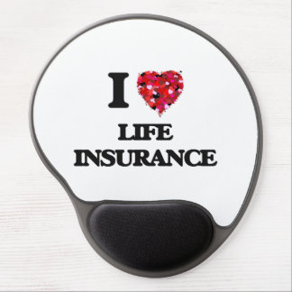 I Love Life Insurance Gel Mouse Mat