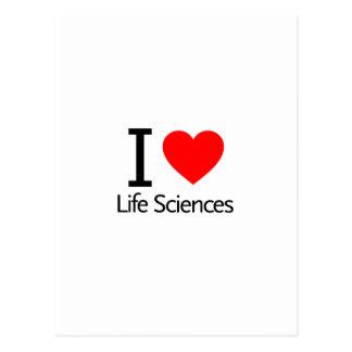 I Love Life Sciences Postcards