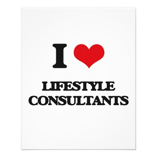 I love Lifestyle Consultants Full Color Flyer